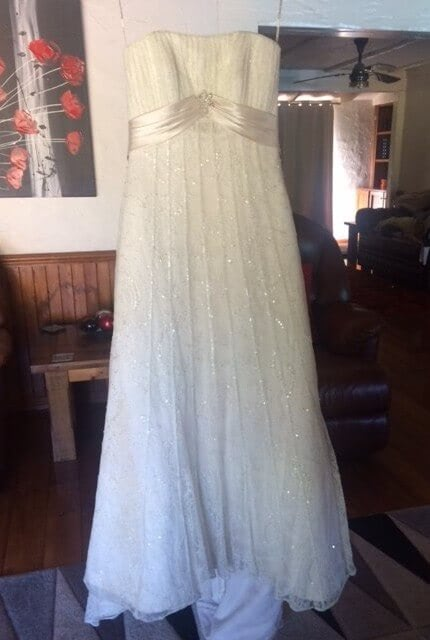 Maggie Sottero – Size 10 Strapless dress | Second hand wedding dresses Cockatoo - Size 10