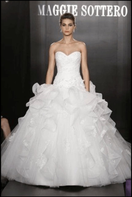 Maggie Sottero – Size 14 Ball Gown dress | Second hand wedding dresses Windsor Gardens - Size 14