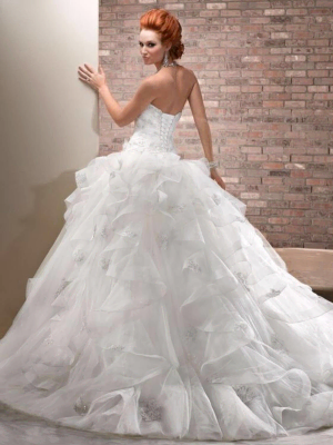 Maggie Sottero – Size 14 Ball Gown dress | Second hand wedding dresses Windsor Gardens - 2