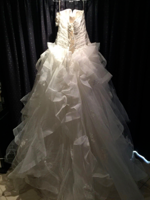 Maggie Sottero – Size 14 Ball Gown dress | Second hand wedding dresses Windsor Gardens - 5
