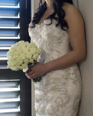 Sottero and Midgley – Size 8 Fishtail dress | Second hand wedding dresses Coburg North - Size 8