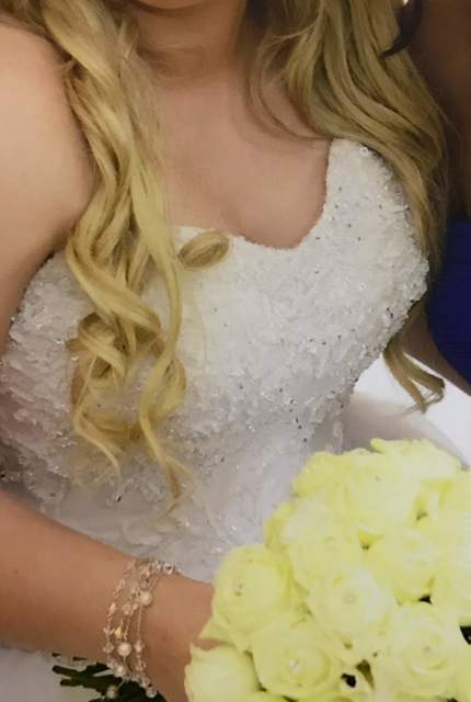 Personalised Weddings Couture – Size 16 Ball Gown dress | Second hand wedding dresses Revesby - 16