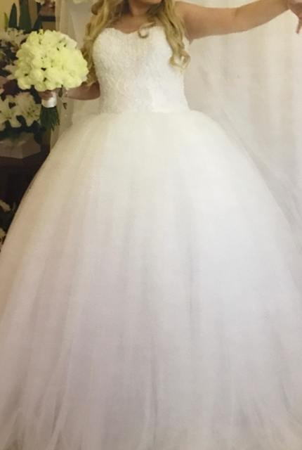 Personalised Weddings Couture – Size 16 Ball Gown dress | Second hand wedding dresses Revesby - 5