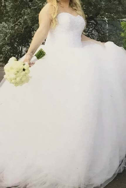 Personalised Weddings Couture – Size 16 Ball Gown dress | Second hand wedding dresses Revesby - 3
