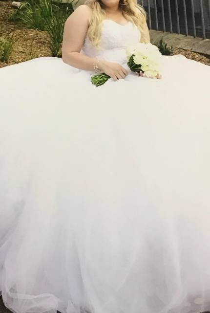 Personalised Weddings Couture – Size 16 Ball Gown dress | Second hand wedding dresses Revesby - 12
