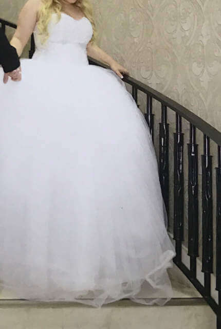 Personalised Weddings Couture – Size 16 Ball Gown dress | Second hand wedding dresses Revesby - 8
