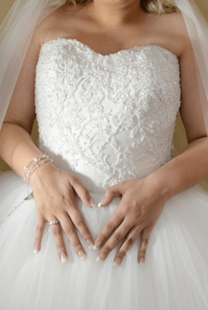 Personalised Weddings Couture – Size 16 Ball Gown dress | Second hand wedding dresses Revesby - 2