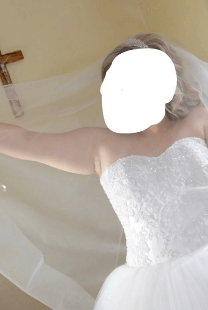 Personalised Weddings Couture – Size 16 Ball Gown dress   Second hand wedding dresses Revesby - 6