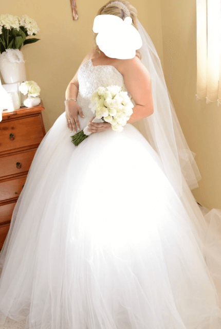Personalised Weddings Couture – Size 16 Ball Gown dress | Second hand wedding dresses Revesby - 11