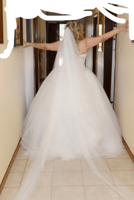 Personalised Weddings Couture – Size 16 Ball Gown dress | Second hand wedding dresses Revesby - 9