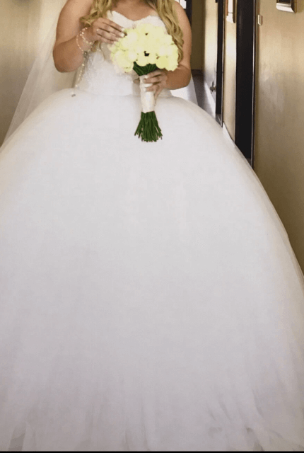 Personalised Weddings Couture – Size 16 Ball Gown dress | Second hand wedding dresses Revesby - 14