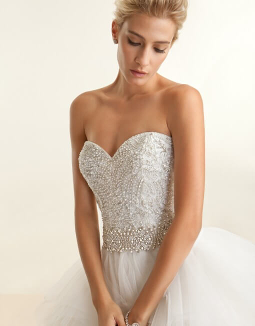 Demetrios – Size 12 Ball Gown dress | Second hand wedding dresses Parramatta - Size 12