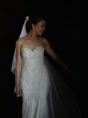 Bespoke / Other – Size 6 Fishtail dress | Second hand wedding dresses Melbourne - 2