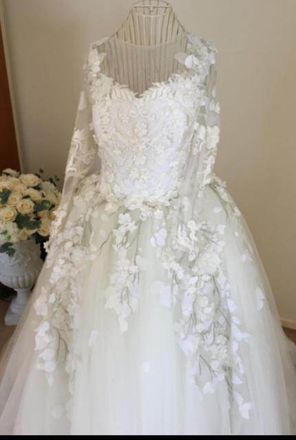 Antonios Couture – Size 10 Ball Gown dress | Second hand wedding dresses smithfield - Size 10