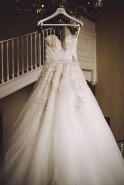 Sophia Tolli – Size 8 A-Line dress | Second hand wedding dresses Perth - 6