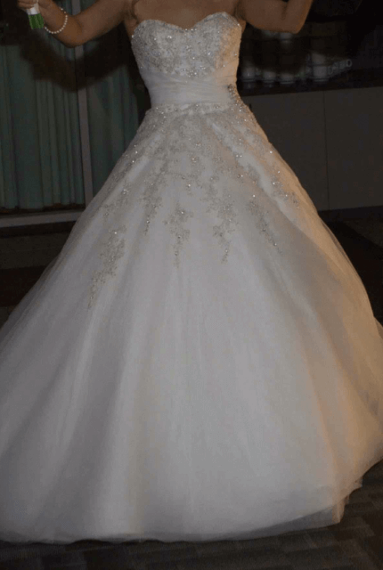 Sophia Tolli – Size 8 A-Line dress | Second hand wedding dresses Perth - 3