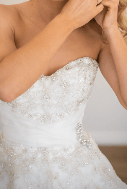 Sophia Tolli – Size 8 A-Line dress | Second hand wedding dresses Perth - 8