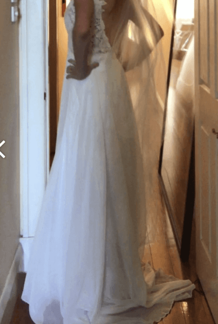 Hera Couture – Size 10 A-Line dress | Second hand wedding dresses Sandringham - 10