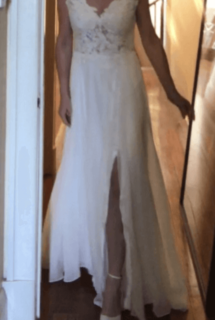 Hera Couture – Size 10 A-Line dress | Second hand wedding dresses Sandringham - 9