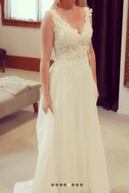 Hera Couture – Size 10 A-Line dress | Second hand wedding dresses Sandringham - 8