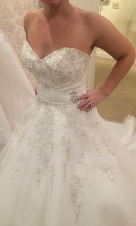 Sophia Tolli – Size 8 A-Line dress | Second hand wedding dresses Perth - 4