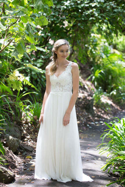 Hera Couture – Size 10 A-Line dress | Second hand wedding dresses Sandringham - 5