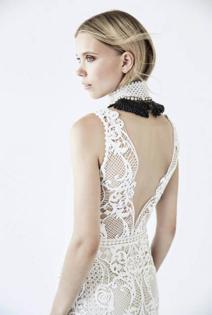 Suzanne Harward – Size 12 Fit and Flare dress   Second hand wedding dresses Fitzroy North - 5
