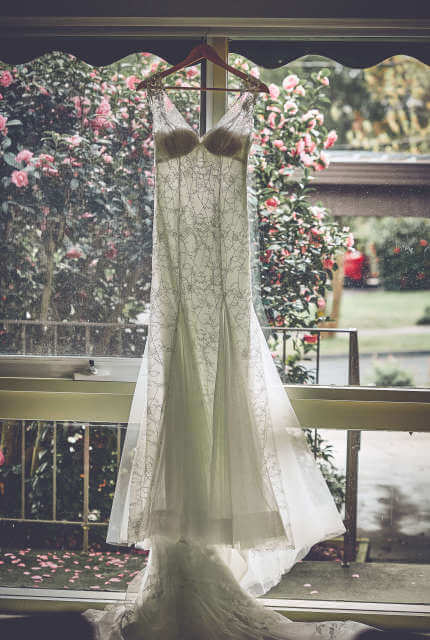 Nicole Spose – Size 10 Fit and Flare dress | Second hand wedding dresses RINGWOOD NORTH - 5