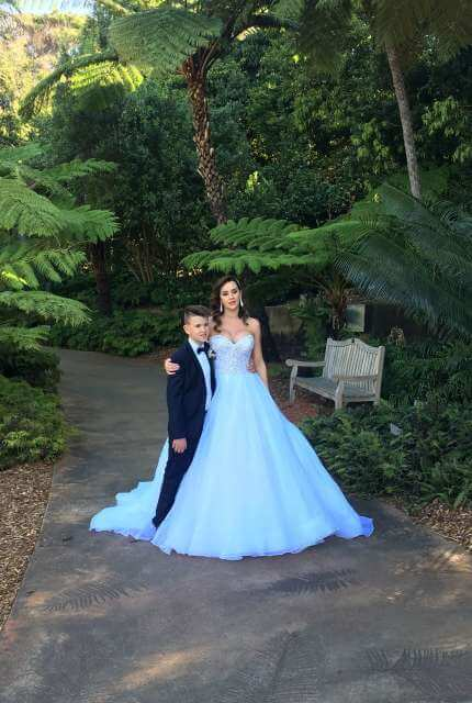 Essense of Australia – Size 14 Strapless dress | Second hand wedding dresses Bow bowing - 10