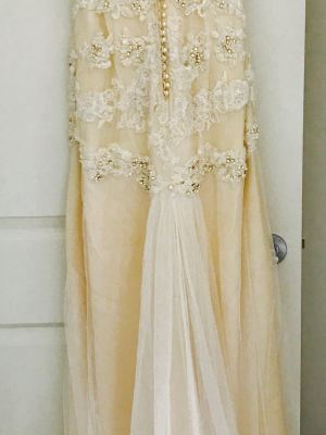 Fara Couture – Size 10 Sheath dress | Second hand wedding dresses 6020 - 2