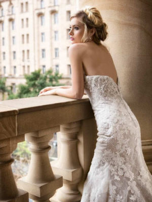 Mia Solano – Size 6 Strapless dress | Second hand wedding dresses CALAMVALE - 2