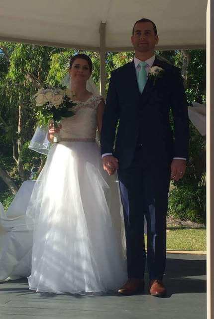 Bespoke / Other – Size 10 Ball Gown dress | Second hand wedding dresses Westmead - 4