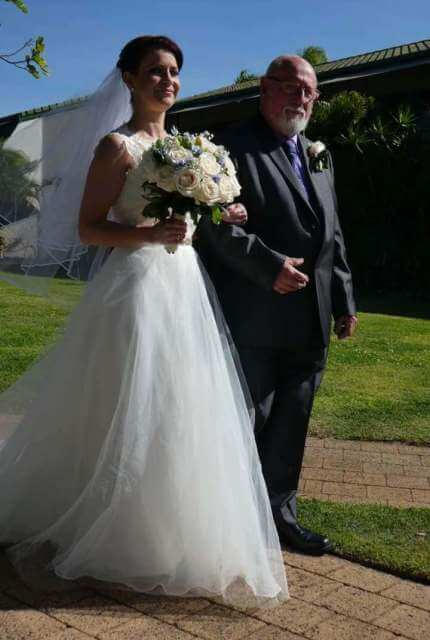 Bespoke / Other – Size 10 Ball Gown dress   Second hand wedding dresses Westmead - 2