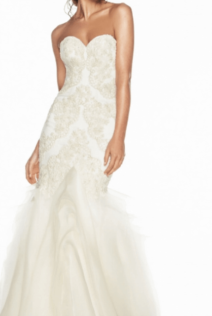 Luci Di Bella – Size 8 Fit and Flare dress   Second hand wedding dresses Prahran - 7