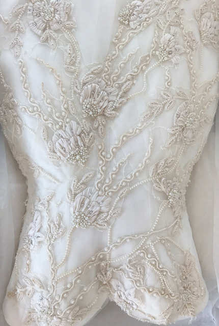 Luci Di Bella – Size 8 Fit and Flare dress   Second hand wedding dresses Prahran - 8
