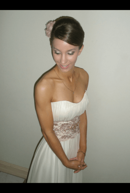 Bespoke / Other – Size 6 Petite dress | Second hand wedding dresses Ferny Hills - 2