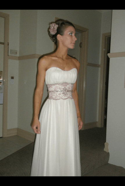 Bespoke / Other – Size 6 Petite dress | Second hand wedding dresses Ferny Hills - Size 6