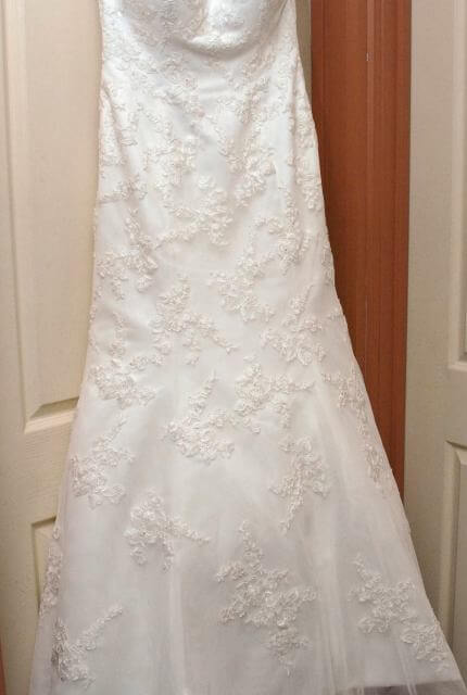 Moir – Size 12 Fit and Flare dress   Second hand wedding dresses Ferntree Gully - 6