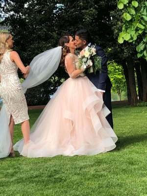 Hayley Paige – Size 10 Ball Gown dress | Second hand wedding dresses West Pennant hills - 3