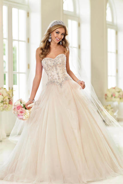 Stella York – Size 10 Ball Gown dress | Second hand wedding dresses Como - 4