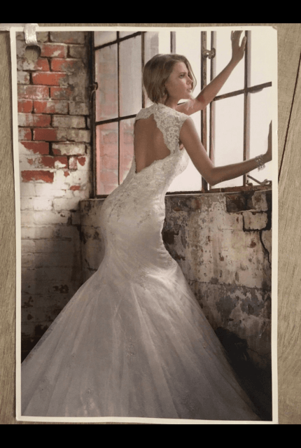 Essense of Australia – Size 8 Fit and Flare dress | Second hand wedding dresses Currambine - Size 8