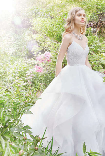 Alvina Valenta – Size 6 A-Line dress | Second hand wedding dresses Carseldine - 4