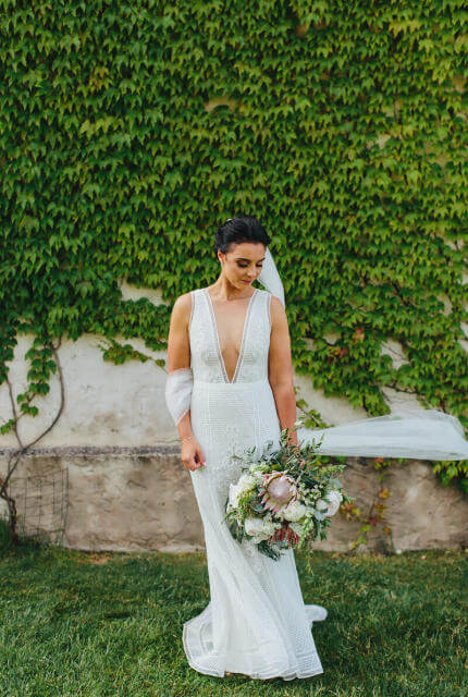 Suzanne Harward – Size 10 Fit and Flare dress | Second hand wedding dresses Melbourne - 5