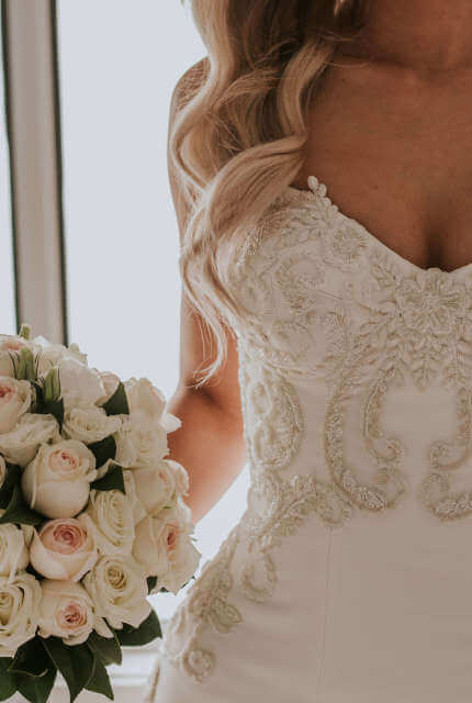 Alin Le' Kal – Size 10 Fit and Flare dress   Second hand wedding dresses Melbourne - Size 10