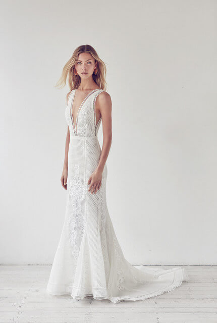 Suzanne Harward – Size 10 Fit and Flare dress | Second hand wedding dresses Melbourne - Size 10