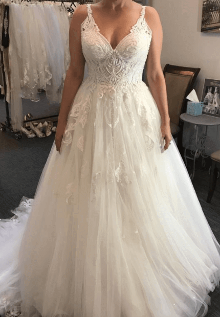 Martina Liana – Size 12 Ball Gown dress | Second hand wedding dresses Sydney - 4
