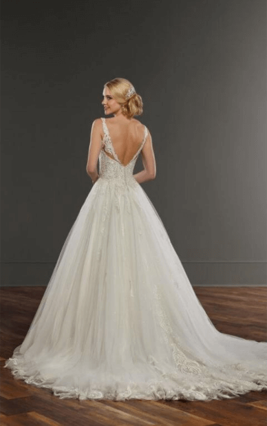 Martina Liana – Size 12 Ball Gown dress | Second hand wedding dresses Sydney - 2