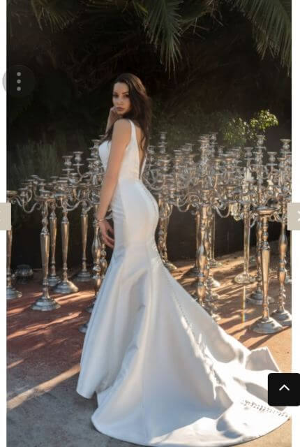 Christina Rossi – Size 12 Fit and Flare dress | Second hand wedding dresses Hurstville - 5