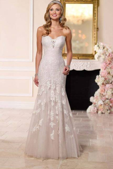 Stella York – Size 12 Strapless dress | Second hand wedding dresses Endeavour Hills - Size 12
