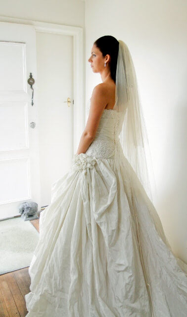 Maggie Sottero – Size 6 Ball Gown dress | Second hand wedding dresses Aspendale - 7